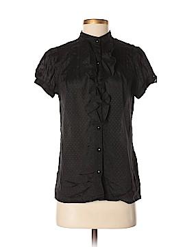 Zara TRF Short Sleeve Blouse Size M