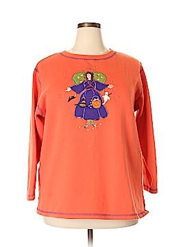 The Quacker Factory Sweatshirt Size 1X (Plus)