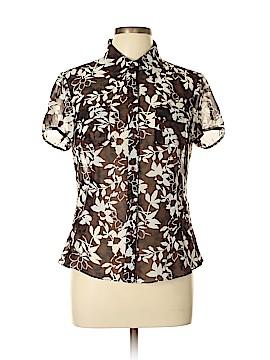 Liz Claiborne Short Sleeve Blouse Size 10