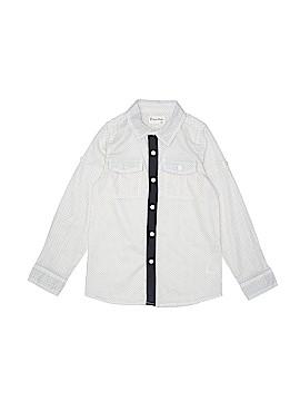 Vierra Rose Long Sleeve Button-Down Shirt Size 8