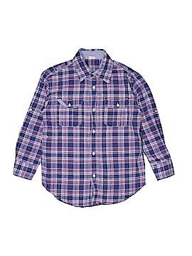 Crewcuts Long Sleeve Button-Down Shirt Size 6 - 7