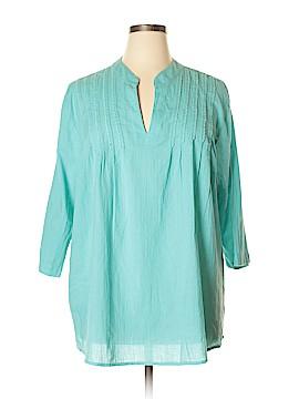 Lane Bryant 3/4 Sleeve Blouse Size 22 - 24 Plus (Plus)