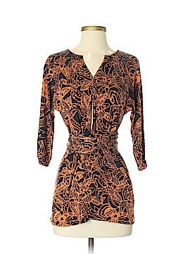 Mara Hoffman 3/4 Sleeve Silk Top Size S