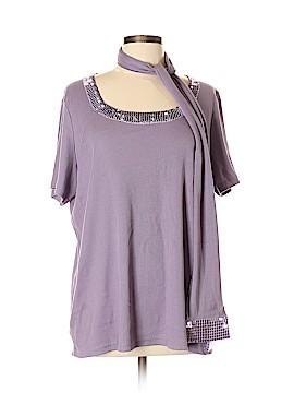 Denim 24/7 Short Sleeve Top Size L