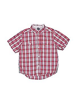 OshKosh B'gosh Short Sleeve Button-Down Shirt Size 4T