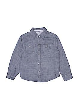 Truly Scrumptious By Heidi Klum Long Sleeve Button-Down Shirt Size 4T