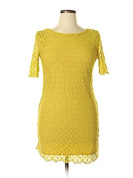 Criss Cross Casual Dress Size L