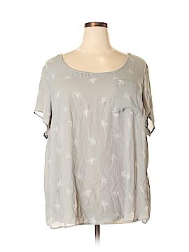 Torrid Short Sleeve Blouse Size 4X Plus (4) (Plus)