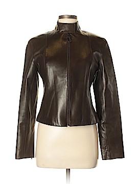 SEARLE Faux Leather Jacket Size 6