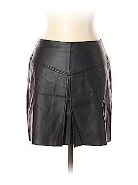 Club Monaco Faux Leather Skirt Size 8