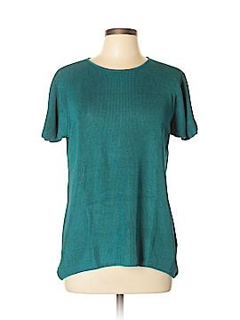 Linda Allard Ellen Tracy Silk Pullover Sweater Size M