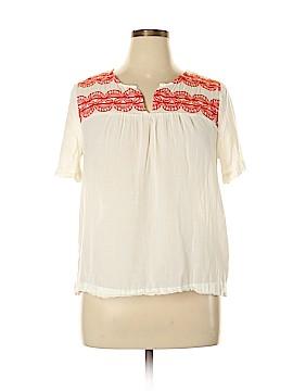 Old Navy Short Sleeve Blouse Size L