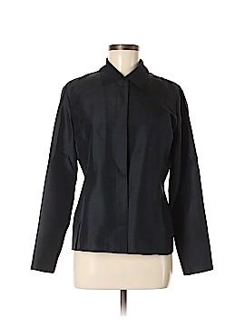 Anne Klein Long Sleeve Silk Top Size 6