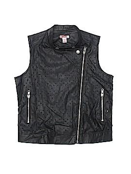 Bongo Faux Leather Jacket Size 10/12