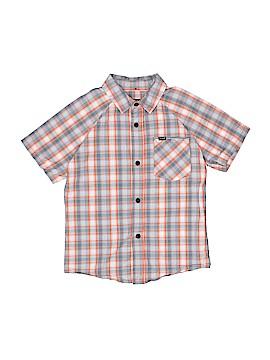 Hurley Short Sleeve Button-Down Shirt Size 6
