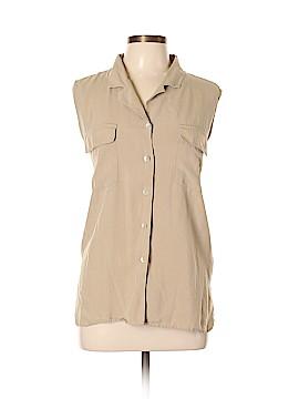 Edward Sleeveless Silk Top Size XL