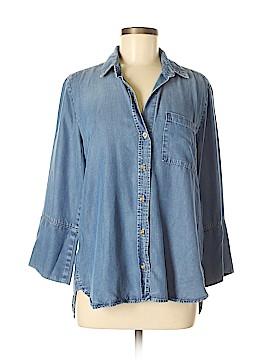 Bella Dahl 3/4 Sleeve Button-Down Shirt Size M