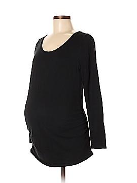 Bump Start by Motherhood Maternity Long Sleeve T-Shirt Size M (Maternity)