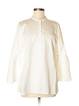 Tibi 3/4 Sleeve Button-Down Shirt Size 4