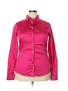 Banana Republic Long Sleeve Button-Down Shirt Size 16