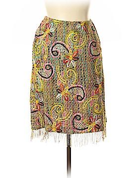 RENA LANGE Wool Skirt Size 12