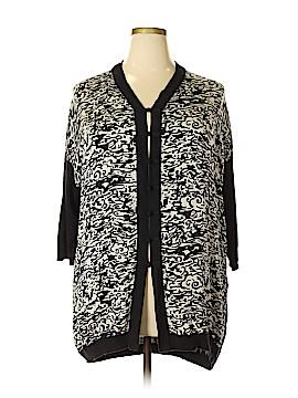 Shanghai Tang Silk Cardigan Size XL