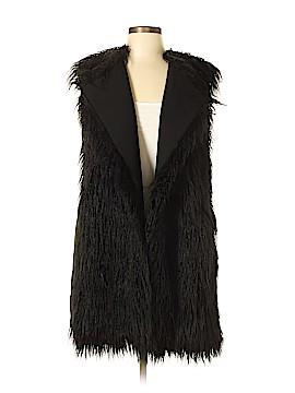 Theory Faux Fur Vest Size M