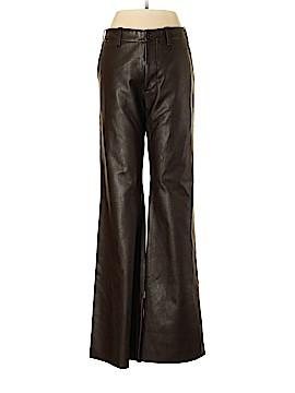 Joseph Faux Leather Pants Size M