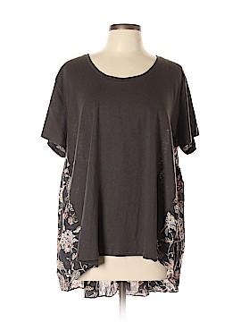 Umgee Short Sleeve Blouse Size XL