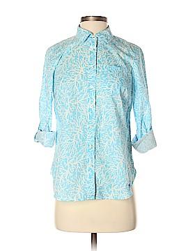Talbots Long Sleeve Button-Down Shirt Size S (Petite)