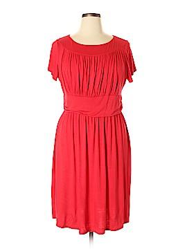 Meri Skye Casual Dress Size 1X (Plus)