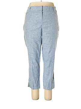 7th Avenue Design Studio New York & Company Linen Pants Size 18 (Plus)
