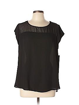 Pure Energy Short Sleeve Blouse Size 1X (Plus)