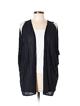 August Silk Cardigan Size Lg - XL