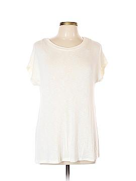 Chloe K Short Sleeve Top Size L