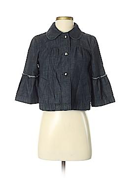 Ann Taylor Factory Denim Jacket Size XXS (Petite)