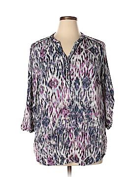 Style&Co 3/4 Sleeve Blouse Size XL