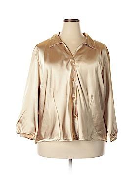 Maggie Barnes 3/4 Sleeve Blouse Size 30W (Plus)