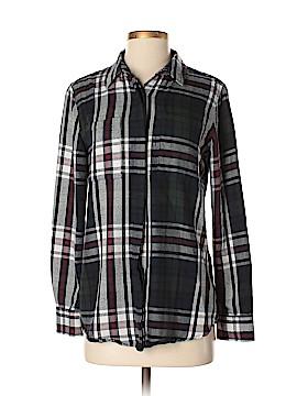 Jach's Girlfriend Long Sleeve Button-Down Shirt Size S