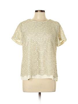 Ann Taylor Short Sleeve Blouse Size 14 (Petite)