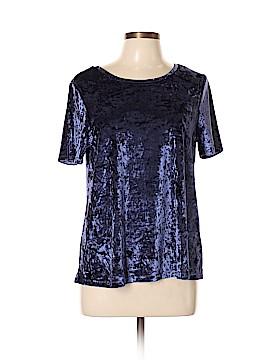 Cynthia Rowley TJX Short Sleeve Blouse Size L
