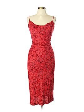 August Silk Casual Dress Size L
