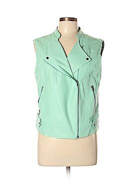 Astr Faux Leather Jacket Size L