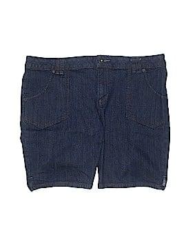 Liz Claiborne Denim Shorts Size 16