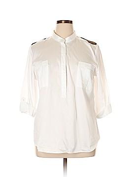 Apostrophe 3/4 Sleeve Blouse Size XL