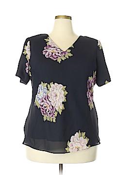 Jessica Howard Short Sleeve Blouse Size 20 (Plus)