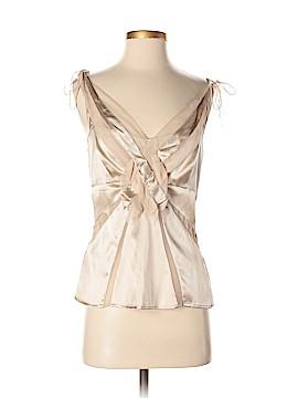Karen Millen Sleeveless Silk Top Size 8