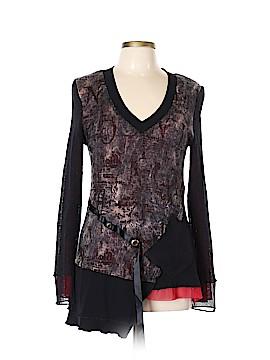 Dzhavael Couture Long Sleeve Top Size XL