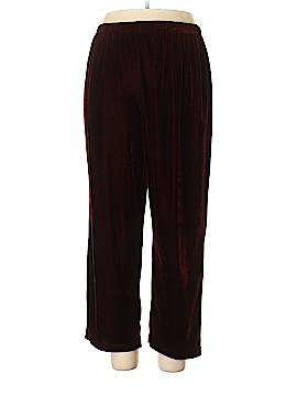 Coldwater Creek Velour Pants Size XL