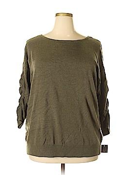 INC International Concepts Sweatshirt Size 0X (Plus)